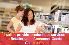 Courses for those who sell to retailers and consumer goods companies