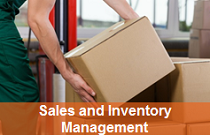 Online training in sales and inventory management